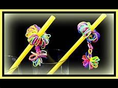Basteln Mit Strohhalmen - basteln mit strohhalmen und loom bands partydeko selber