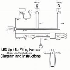 12v led wiring guide wiring harness cable led light bar laser rocker switch 12v 40a relay fuse on ebay