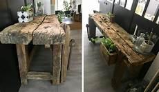 deco bois brut inspiration d 233 coration int 233 rieur 13 mobiliers en bois brut
