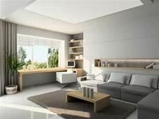 Wohnzimmer Und Arbeitszimmer Kombiniert Wohnzimmer Grau
