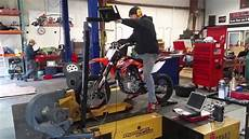ssr 150 dirt bike on dyno new out of the box 2
