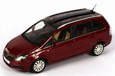 1 43 Opel Zafira B Power Rot Dealer Edition Oem
