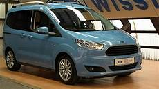 ford tourneo courier titanium taclfl62745 skyline blue