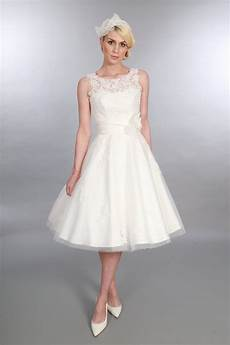 Vintage Wedding Dresses Tea Length
