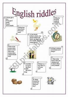 esl riddles worksheets 10892 riddles part 2 esl worksheet by anutka