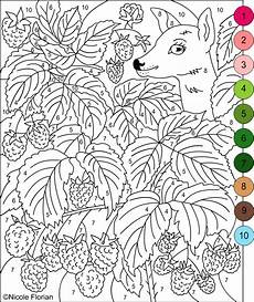 free color by number worksheets for adults 16289 s free coloring pages color by numbers strawberries and raspberries coloring pages
