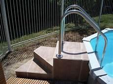 escalier bois piscine hors sol escalier pour piscine bois meilleure id 233 e d escalier