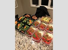 1 week of food. High protein, low carb. : MealPrepSunday