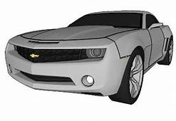 Sketchup Components 3d Warehouse Cars Chevrolet Camaro 2006