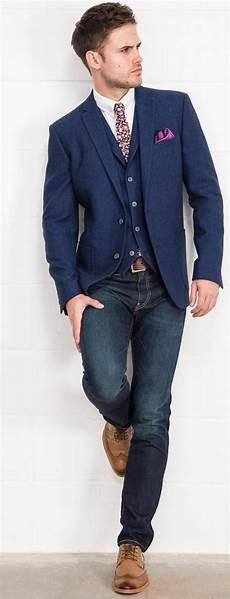 veste avec jean homme pour un look plus casual la veste de costume accompagn 233 e
