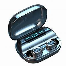 Mini Portable Wireless Bluetooth Earphone Display by Mini Tws Wireless Earbuds Bluetooth 5 0 Earphone Led