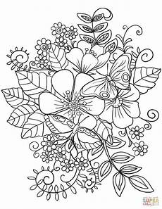 21 brilliant picture of flowers coloring pages