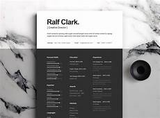 graphic design resume behance best free resume templates on behance