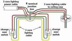 change over domestic electric lighting circuit uk