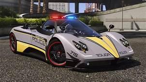 Pagani Zonda Tricolore  Hot Pursuit Police Add On