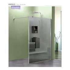 paroi douche verre miroir paroi de fixe april verre de 8 mm robinet co