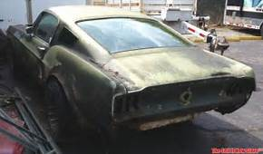 Vintage Barn Find 1967 Ford Mustang Fastback 4 Speed 302
