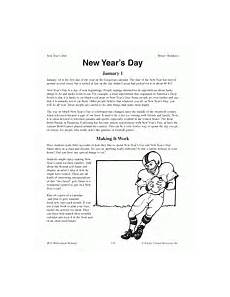 new year worksheets for grade 19410 maniac magee literature guide for grades 5 8 teachervision