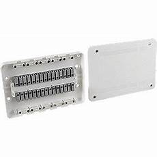 surewire sw7m mf 16a 7 way pre wired junction box white junction boxes screwfix com