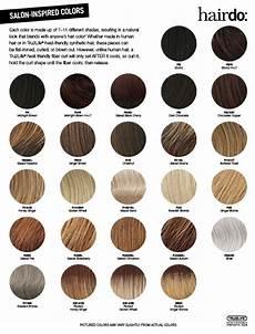 Hair Color Descriptions