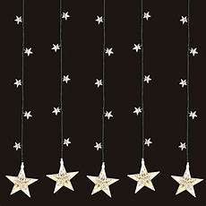 Led Sternenvorhang 105x100cm Mit 100 Led Lichter Warmwei 223
