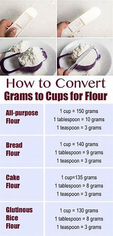 How To Convert Grams To Cups For Flour Omnivorescookbook