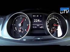 2014 vw golf 7 gtd 184hp 0 224 km h acceleration
