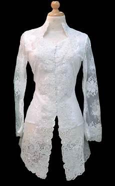 Pernikahan Impian Model Gaun Kebaya Pengantin Warna Putih