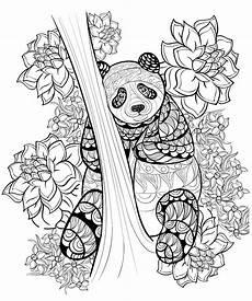 Malvorlagen Unicorn Panda Zentangle Panda Coloring Sheet Printable Panda Coloring
