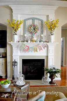 Fireplace Mantel Decorations by Adventures In Decorating Styling Our Mantel