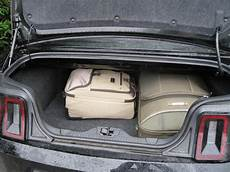 Mustang Convertible Trunk Size Mustang Owners Club Of