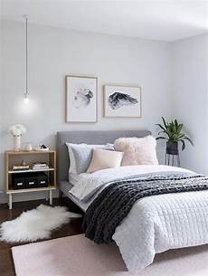 Grey Simple Bedroom Ideas by Beautiful Bedding With A Light Pastel Color Palette Home