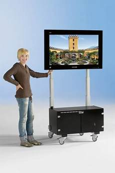 tv wagen tv wagen el h 246 henverstellbar vesa tv 42 50 zoll mit