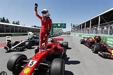 formel 1 kanada canadian grand prix sebastian vettel puts on pole