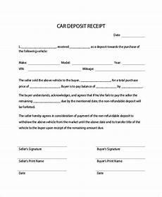 down payment receipt down payment receipt sle 16 exles in word pdf