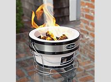 Fire Sense Charcoal BBQ Healthy Ceramic Portable Grill
