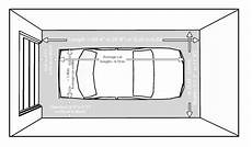Garage Abmessungen by Size And Layout Specifics For A One Car Garage Garage