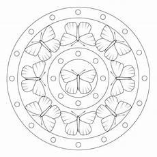 Malvorlage Schmetterling Mandala Schmetterling Mandala 4 Mandala Tiere Geometrisches