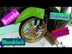 Beat Fi Babylook by Pasang Kaliper Brembo Monoblock Dan Diskbrake Nissin Beat