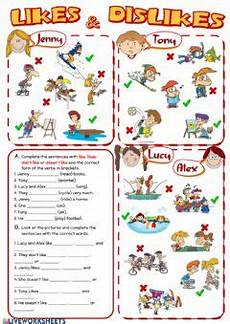 english exercises simple present activities