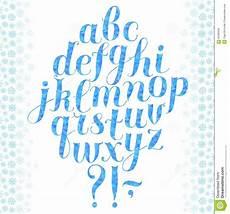 calligraphy winter font stock illustration illustration