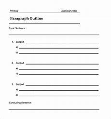 free 5 sle blank outline templates in pdf doc