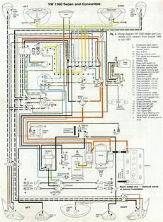 66 and 67 vw beetle wiring diagram 1967 vw beetle