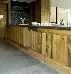 fa 231 ade cuisine bois recycl 233 facade cuisine cuisine bois