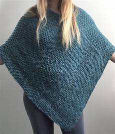 Knitting Pattern For Lorna Poncho This Easy Poncho Is