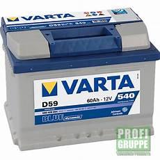 ford focus ii autobatterie varta blue dynamic 60 ah ebay