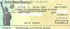 tax refund in state tax refund check