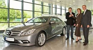 First Mercedes Benz E Class Coupe Delivered To Customer In