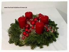 adventskranz modern bordeaux weihnachten