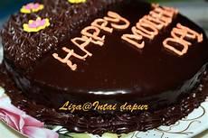 Intai Dapur Kek Coklat Moist Selamat Hari Ibu